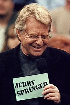 Branded Cue Card Note Card Jerry Springer